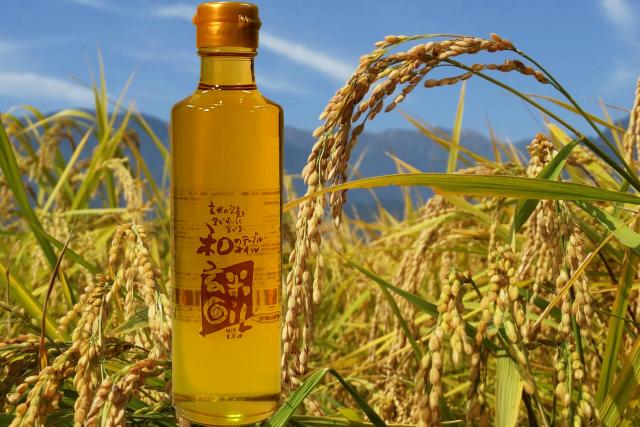 特選玄米油(和の玄米オイル)